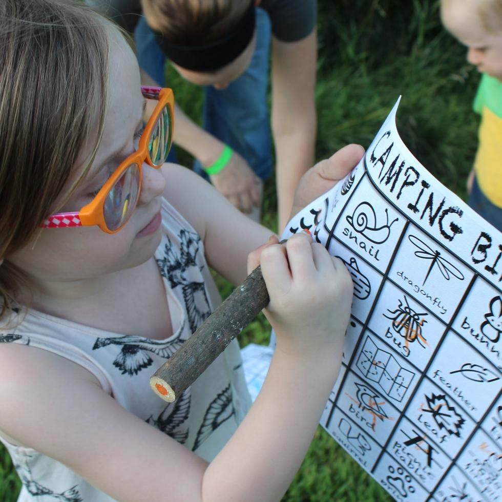 CRAFT Camping Bingo With FREE Printable